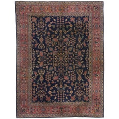 Antique Turkish Sparta Rug with Traditional Style