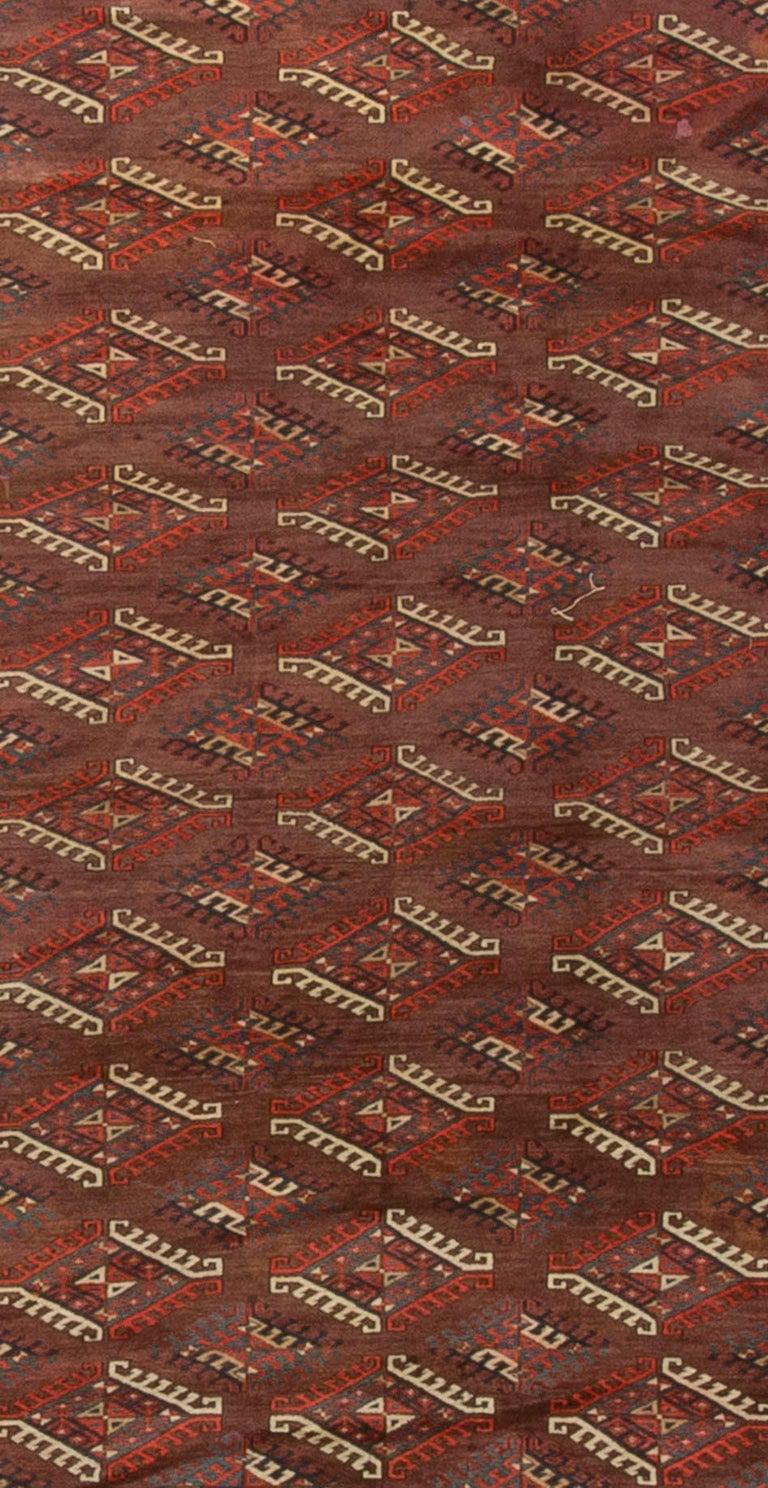 Antik Turkmenische Bokhara Yomut Teppich Um 1890 Im Angebot Bei 1stdibs