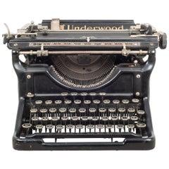 Antique Underwood Typewriter #4, circa 1911
