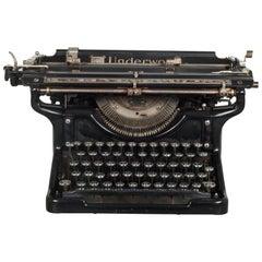 Antique Underwood Typewriter #6 12, circa 1933