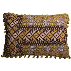Antique Uzbak Pillow, circa 1850 1513p