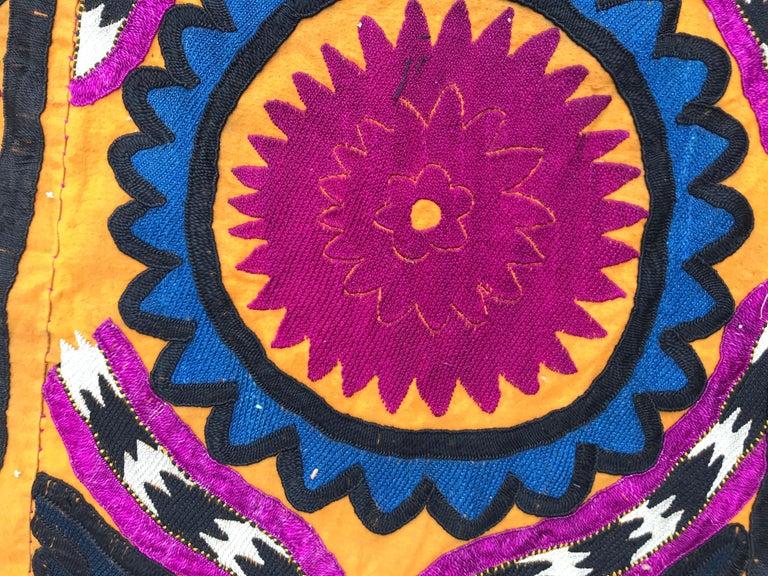 Antique Uzbek Suzani Embroidery For Sale 4