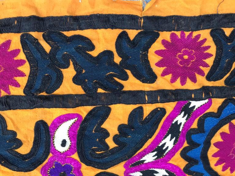 Antique Uzbek Suzani Embroidery 10