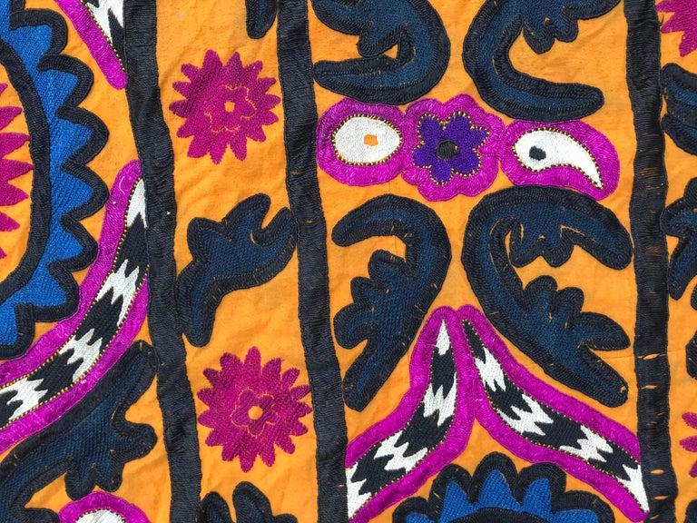 Antique Uzbek Suzani Embroidery For Sale 2