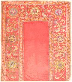 Antique Uzbekistan Suzani Embroidery Textile