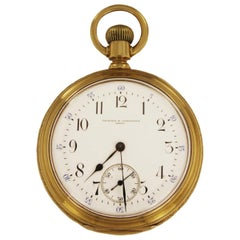 Antique Vacheron Constantin Solid 18 Karat Yellow Gold Pocket Watch