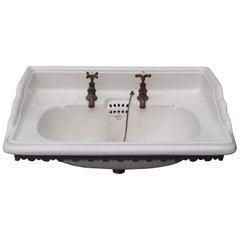 Antique 'Vandus' Wall Mounted Sink/Basin