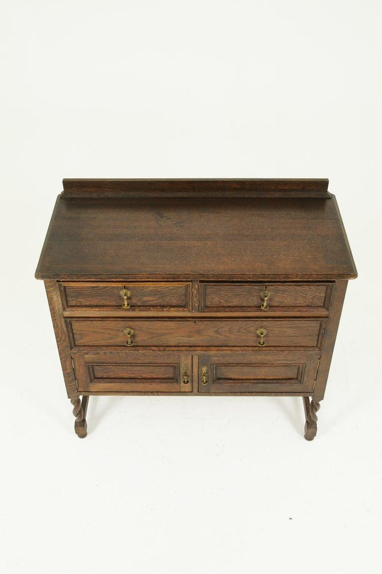 Antique Vanity Antique Oak Dresser Jacobean Revival