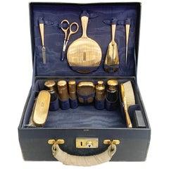 Cartier Antique Vanity Set in 14 Karat Gold