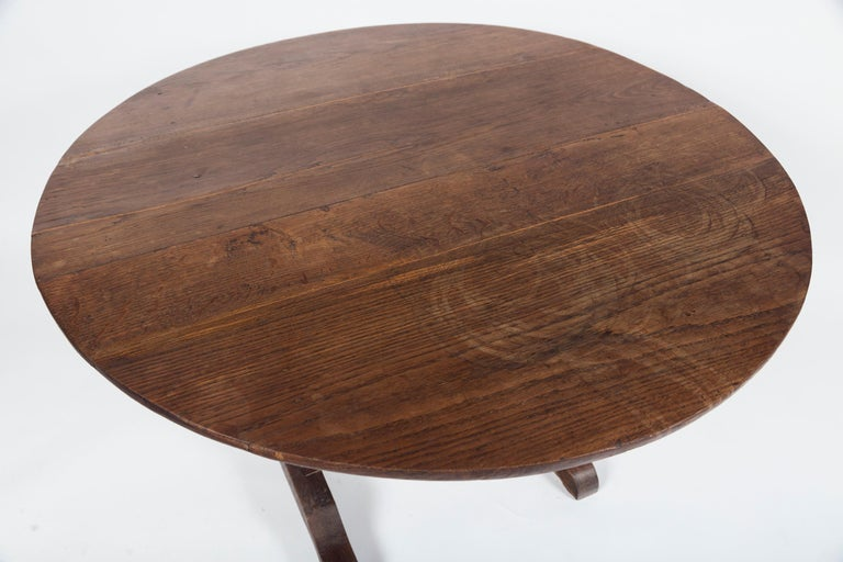 Antique Vendange 'Wine Tasting' Table, Late 19th Century, France In Good Condition For Sale In Chappaqua, NY