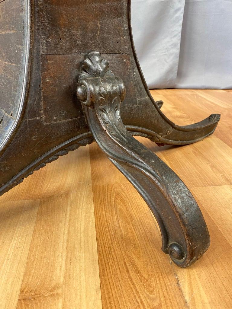 Antique Venetian Gondola Chair, 18th C. For Sale 3
