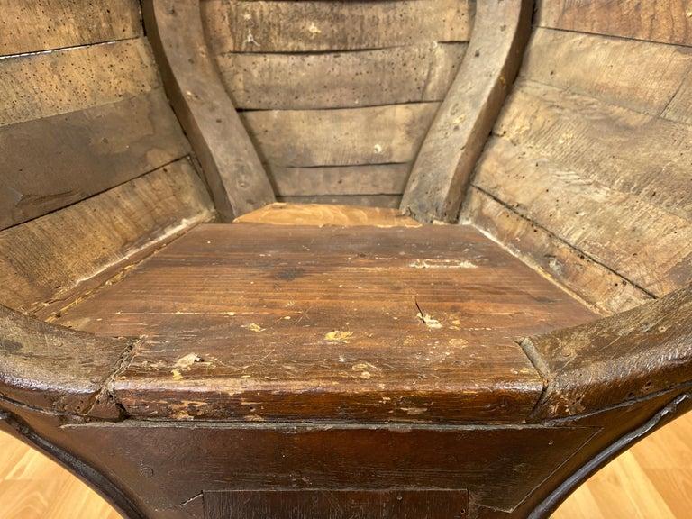 Antique Venetian Gondola Chair, 18th C. For Sale 10