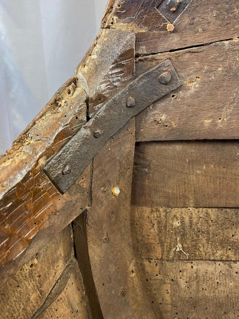 Antique Venetian Gondola Chair, 18th C. For Sale 12