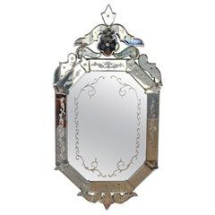 Antique Venetian Mirror, 1920s