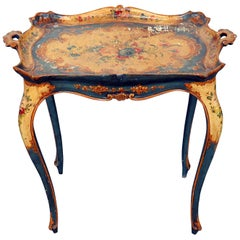 Antique Venetian Tray Table