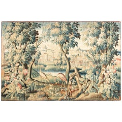 Antique Verdure Tapestry 'Fragment'