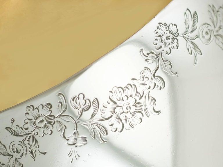 Antique Victorian 1850s Sterling Silver Goblet For Sale 1
