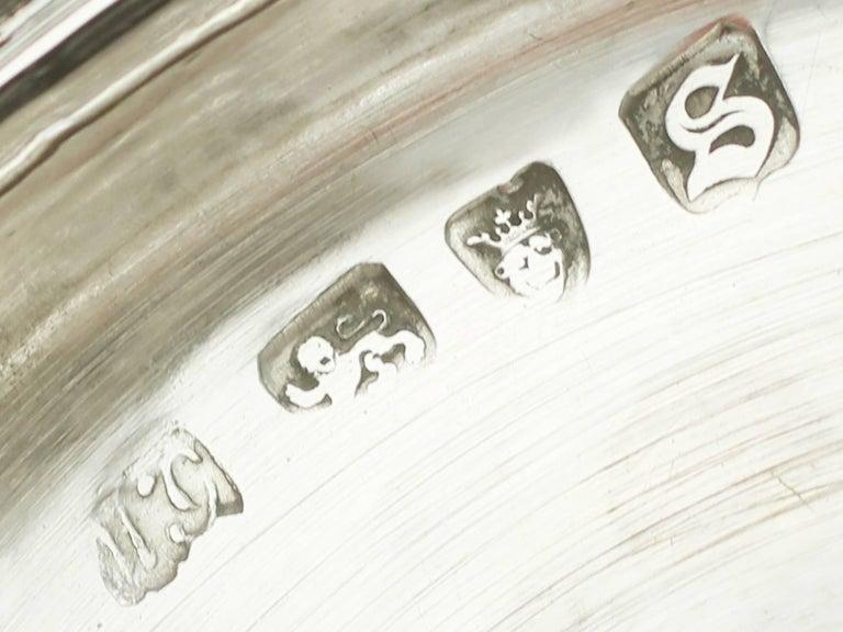 Antique Victorian 1850s Sterling Silver Goblet For Sale 2