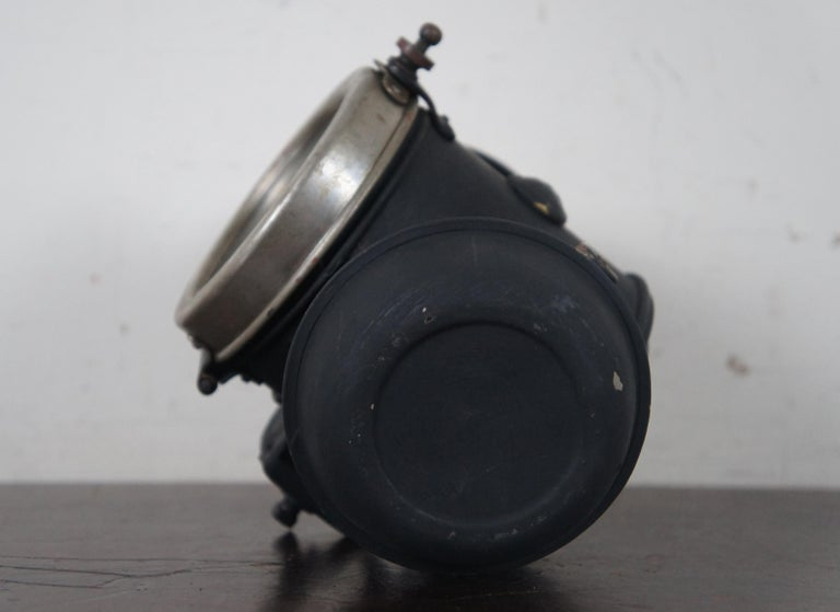 Antique Victorian Automobile Carriage Lantern Model T Headlight Oil Lamp Light For Sale 2