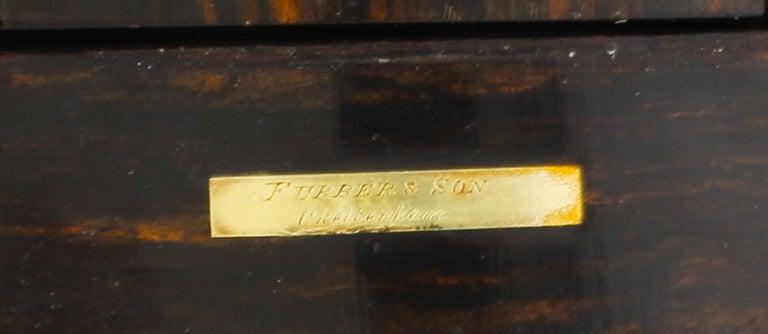 Antique Victorian Betjemann's Pietra Dura Coromandel Book Slide 19th C 7