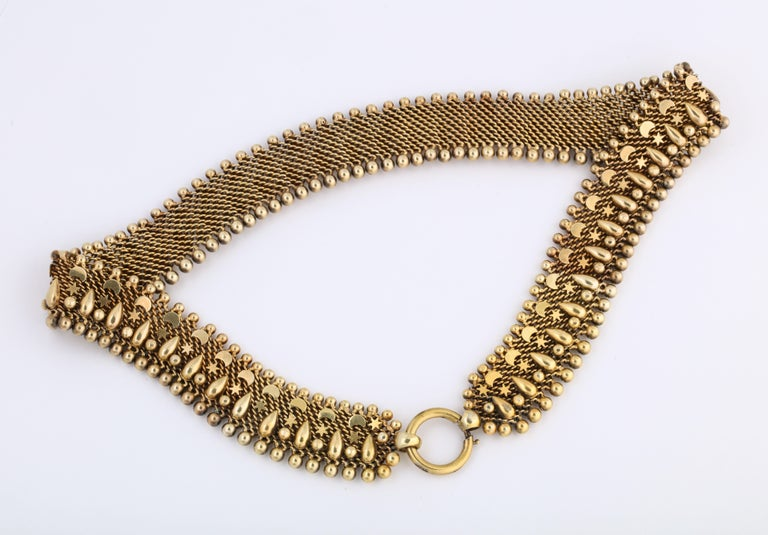 Antique Victorian Book Chain Necklace In Excellent Condition For Sale In Stamford, CT