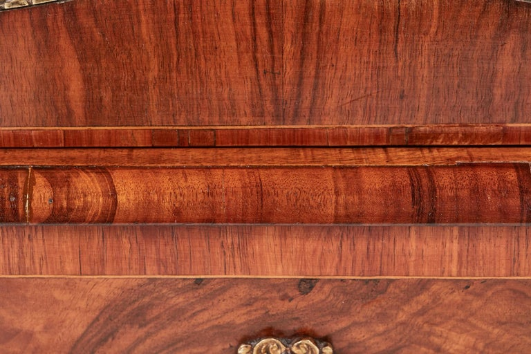 Antique Victorian Burr Walnut Credenza For Sale 5