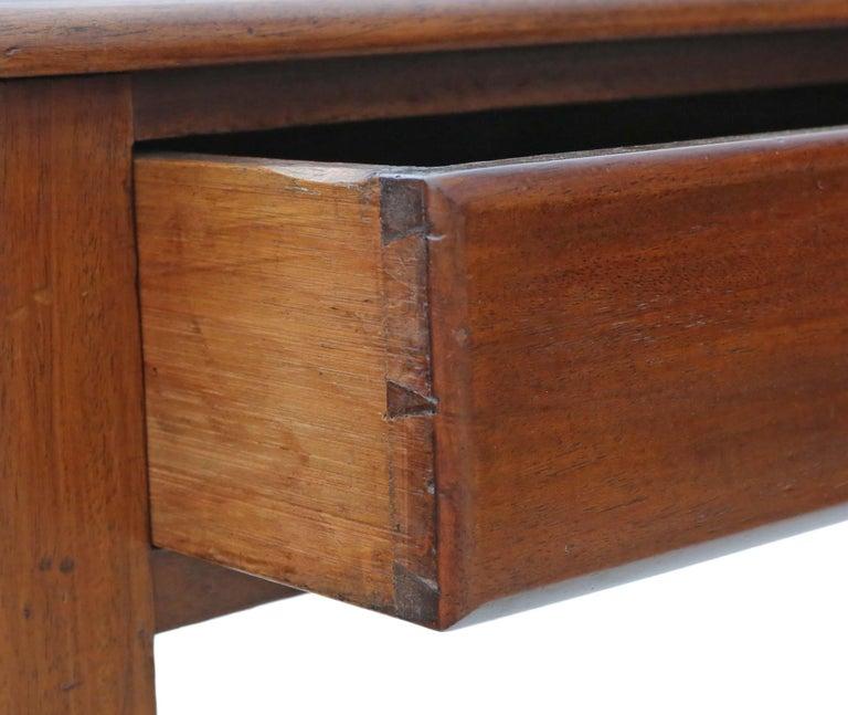 Late 19th Century Antique Victorian circa 1880 Mahogany Writing Dressing Table Desk