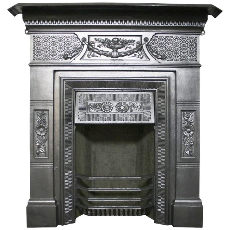 Antique Vintage Bedroom Fireplace: Antique Victorian Cast Iron Bedroom Fireplace For Sale At 1stdibs