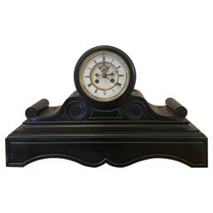 Antique Victorian Eight Day Marble Clock