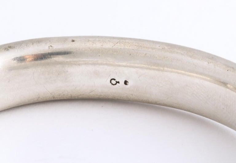 Antique Victorian Enamel and Silver Chrerub Bracelet For Sale 3