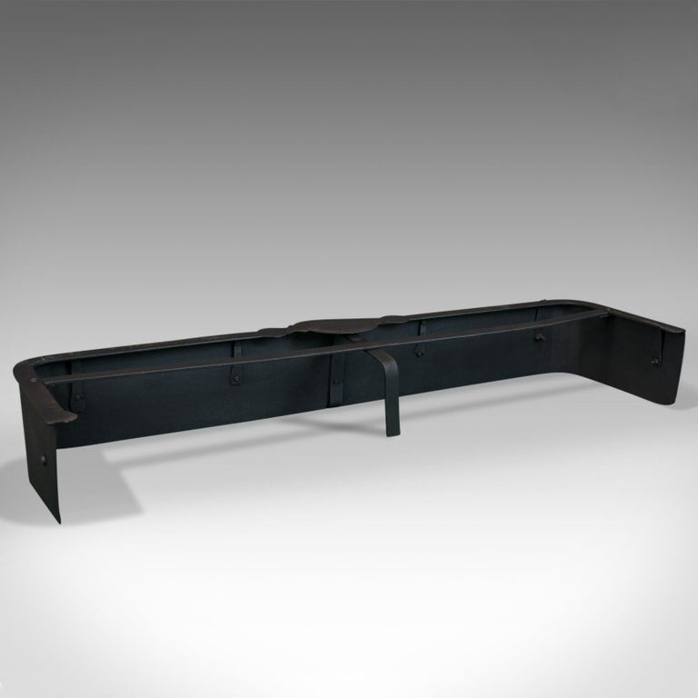 Antique, Victorian, Fire Surround, English, Iron, Late 19th Century, circa 1900 For Sale 1