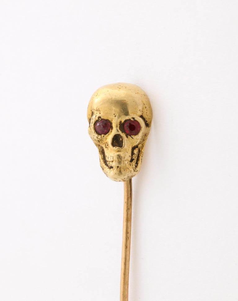 Women's or Men's Antique Victorian Gold Stickpin Collection For Sale