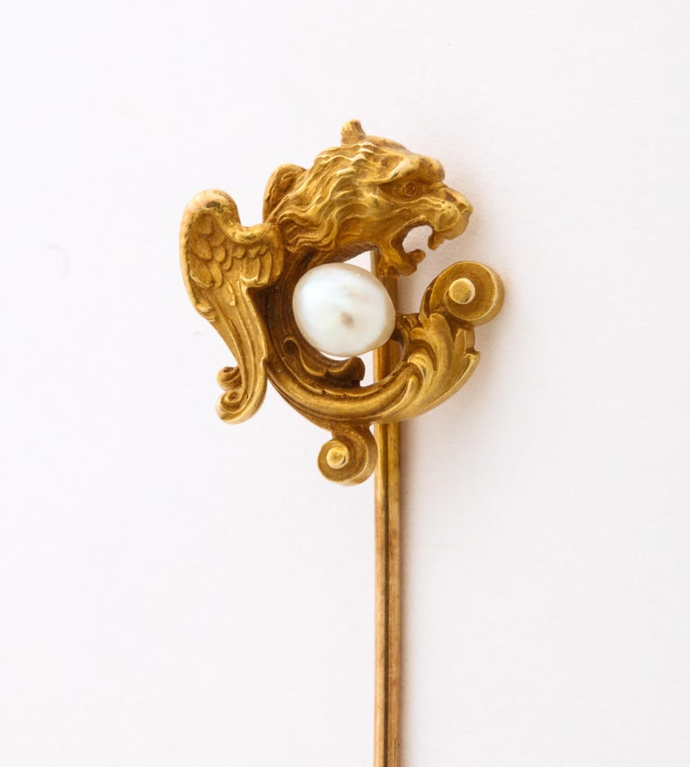 Antique Victorian Gold Stickpin Collection For Sale 1