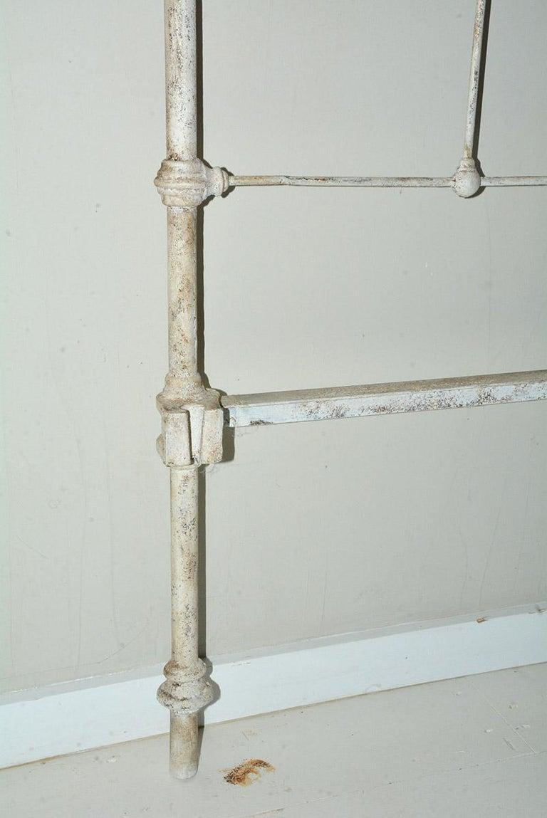 American Antique Victorian King Iron Headboard For Sale