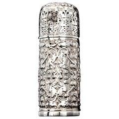 Antique Victorian Large Sugar Caster, .925 Silver