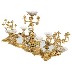 Antique Victorian Louis XIV Style Centrepiece by Barnard & Sons