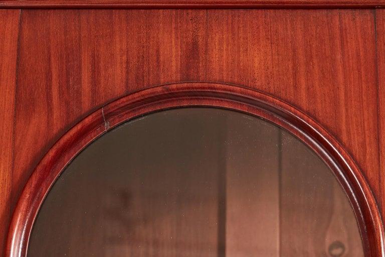 Antique Victorian Mahogany Bookcase For Sale 4