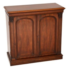 Antique Victorian Mahogany Cabinet Sideboard