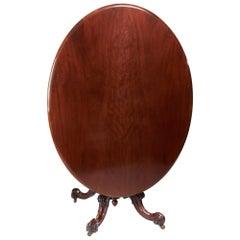 Antique Victorian Mahogany Centre Table