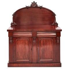 Antique Victorian Mahogany Chiffonier