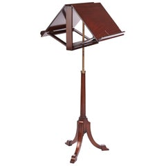 Antique Victorian Mahogany Duet Stand