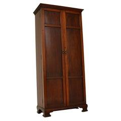 Antique Victorian Mahogany Hall Cupboard