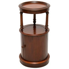 Antique Victorian Mahogany Side Table or Cabinet