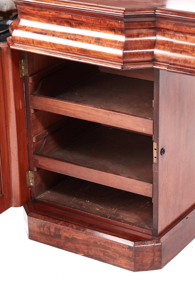 Antique Victorian Mahogany Sideboard For Sale 2