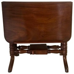 Antique Victorian Mahogany Sutherland Reading Table