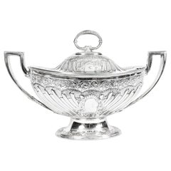 Antique Victorian Silver Plated Tureen Mappin Bros, 19th Century
