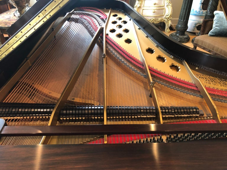 Antique Victorian Steinway Grand Piano For Sale 3