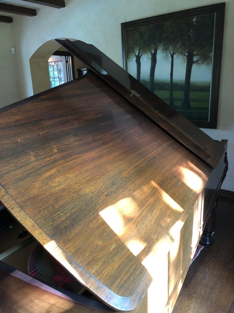 American Antique Victorian Steinway Grand Piano For Sale