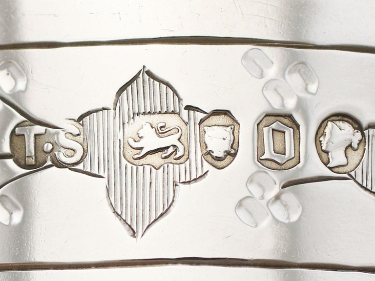 Antique Victorian Sterling Silver Beaker For Sale 8