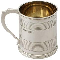 Antique Victorian Sterling Silver Christening Mug